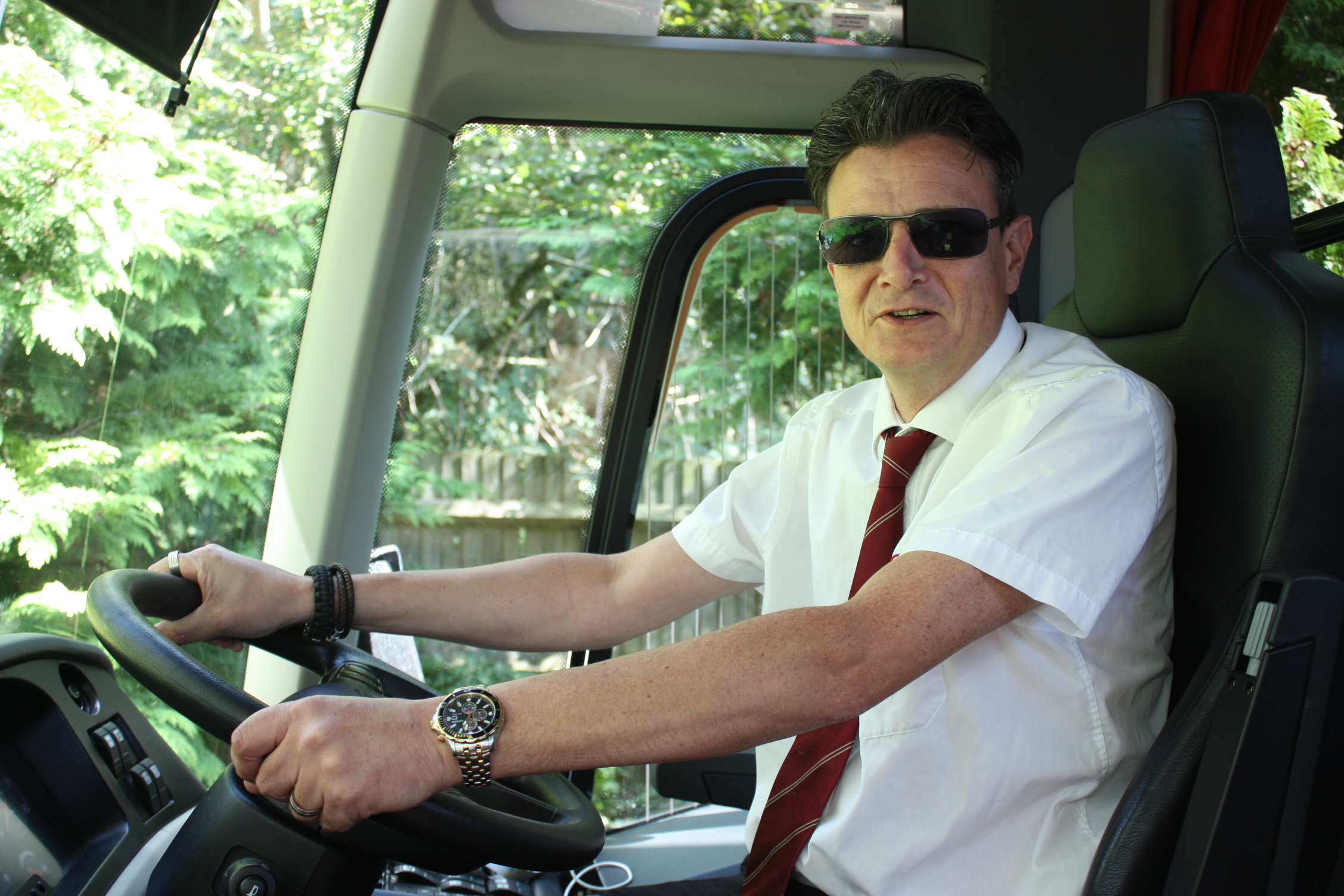 Male Coach Driver